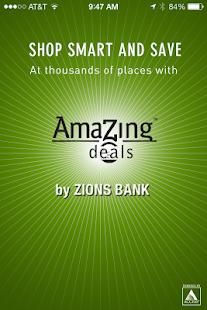 Zions AmaZing Deals- screenshot thumbnail