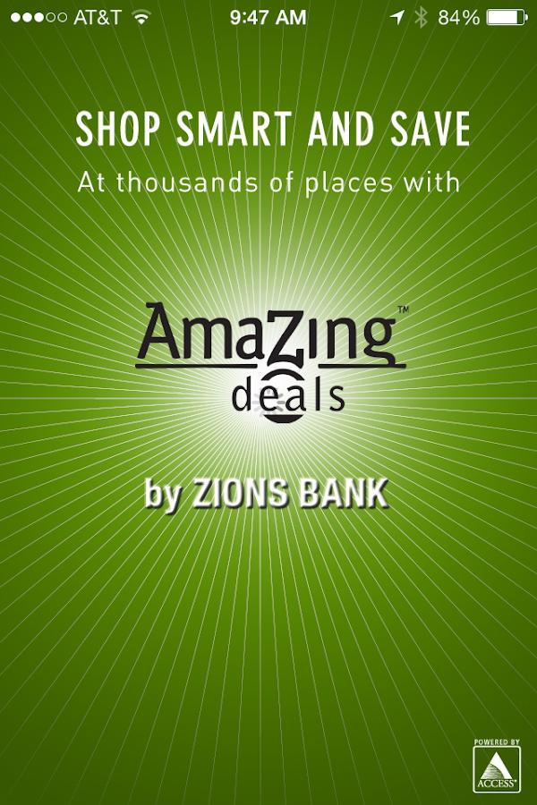Zions AmaZing Deals- screenshot