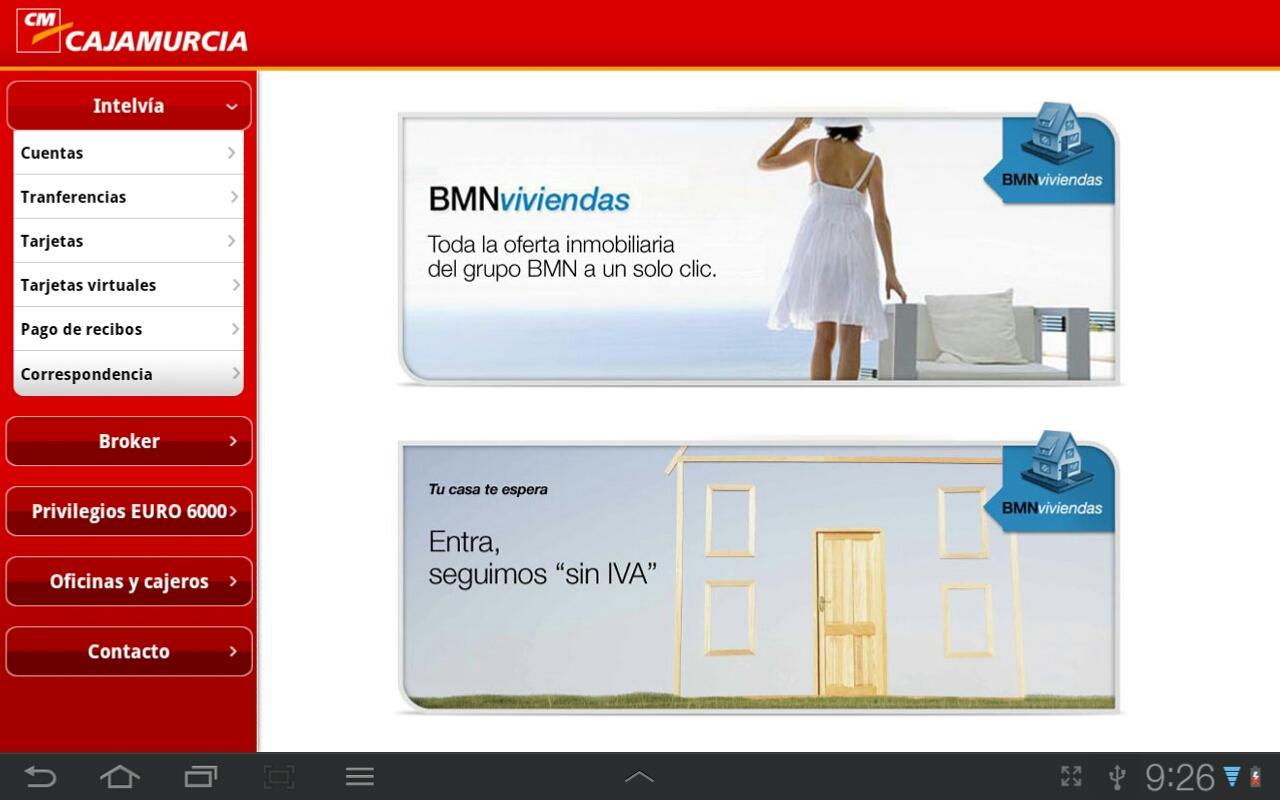 Cajamurcia Banca Online- screenshot