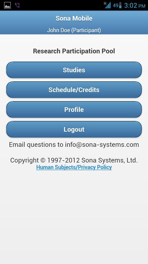 Sona Mobile - screenshot