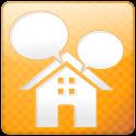 One tap messenger: famichat logo
