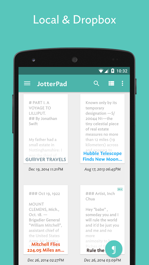 JotterPad (Writer)- screenshot