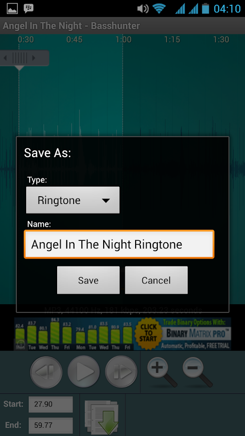 Ringtone Maker Free- screenshot