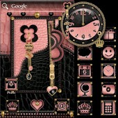 ADWTheme Pink-Heart Blk-Crown