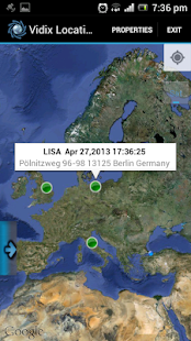 Vidix Location Browser - screenshot thumbnail