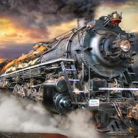 Twin Delight by Nickel Plate Photographics - Transportation Trains