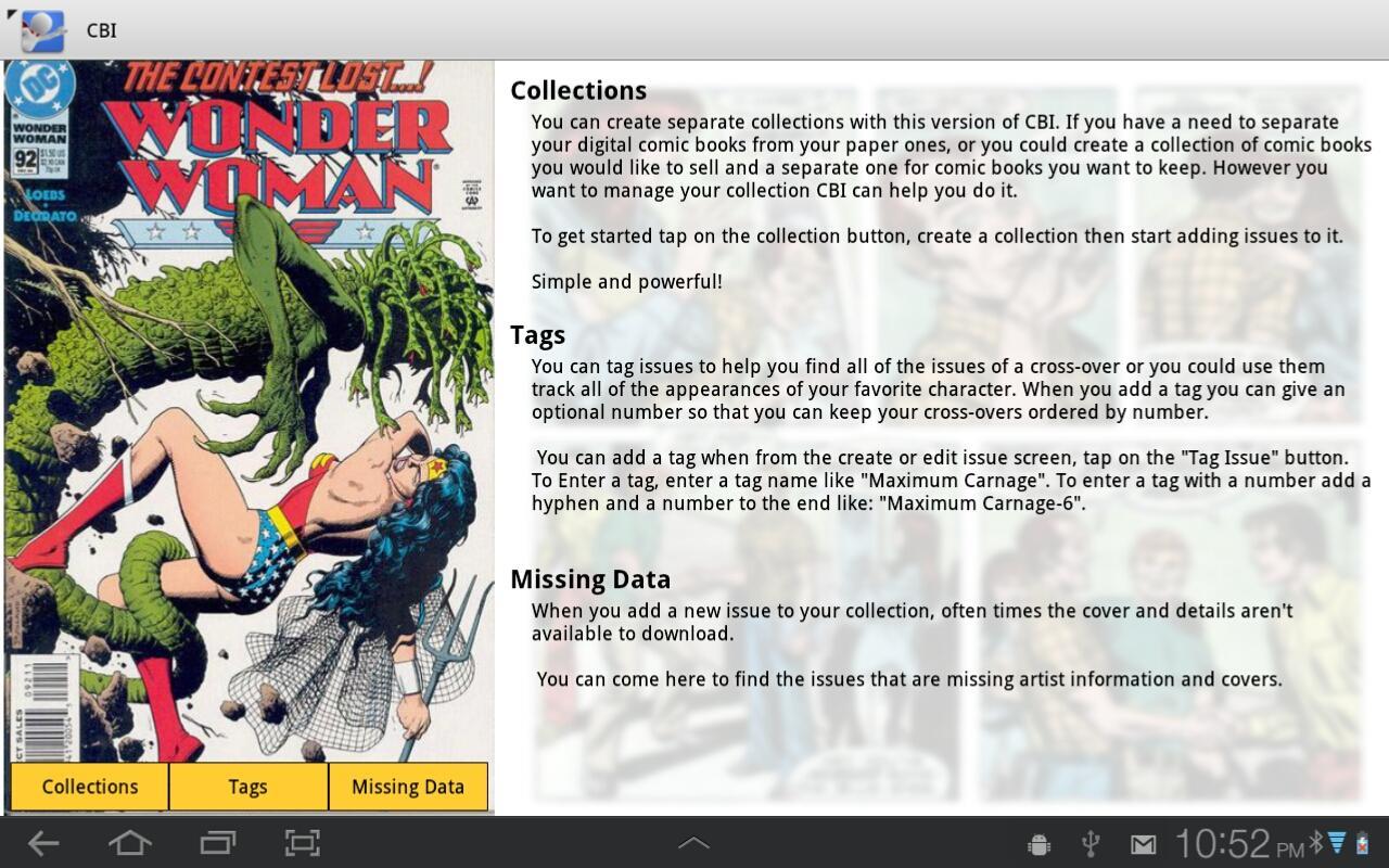 comic book inventory template