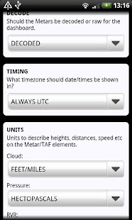 AirReport Lite - METAR & TAF- screenshot thumbnail