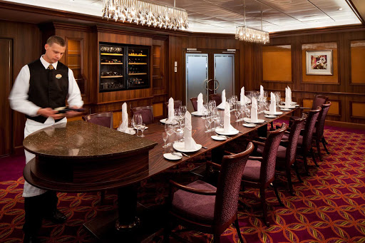 Rhapsody-of-the-Seas-Chefs-Table - With only 14 seatings, early reservations are highly recommended for the Chef's Table, Rhapsody of the Seas most upscale dining experience.