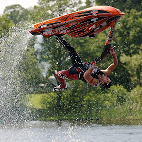 Anthony Burgess by Dave Hudson - Sports & Fitness Watersports