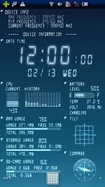 Device Info Ex Live Wallpaper Screenshot 1