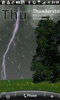 Screenshot of True Weather LWP