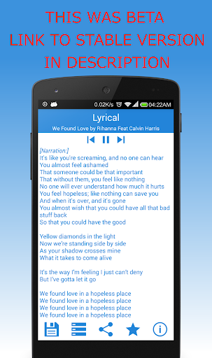 【免費音樂App】Lyrical - Instant Lyrics-APP點子