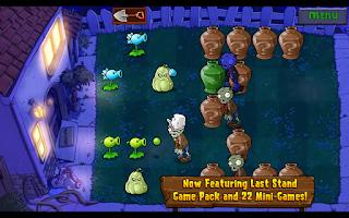 Screenshot of Plants vs. Zombies