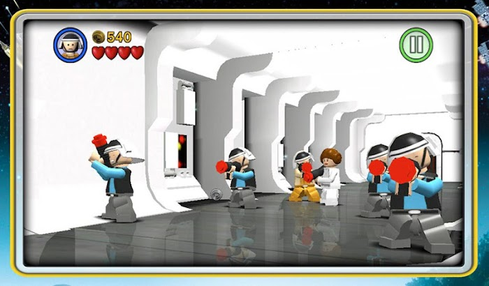 LEGO® de Star Wars ™: TCS - tela capturada