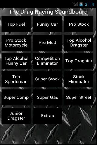 Drag Racing Sound Board - lite