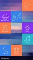 Screenshot of Cube GO Locker Theme