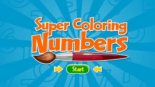 Super Coloring Numbers