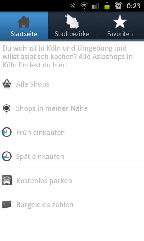 Kochwoche - Köln- screenshot