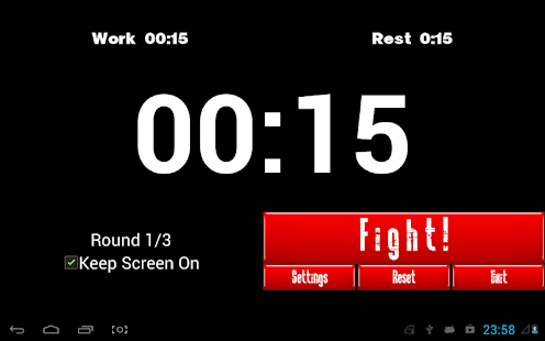 Boxing Interval Timer - screenshot thumbnail