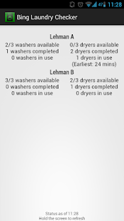 Binghamton Laundry Checker - screenshot thumbnail