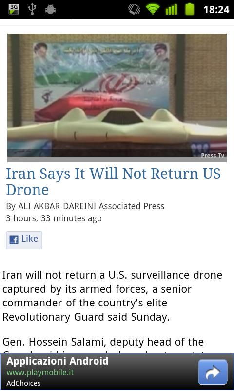 USA Press News - screenshot
