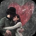 Sweet kiss wallpaper icon
