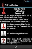 Screenshot of Red Hot Pawn Notification Widg