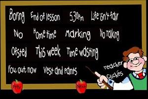 Screenshot of Teacher Cliches
