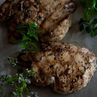 Garlic Herb Marinated Chicken.
