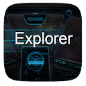 Explorer  GO Launcher Theme icon