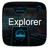 Explorer  GO Launcher Theme