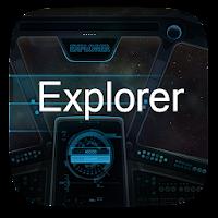 Explorer  GO Launcher Theme v1.0