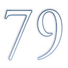 Batería Reloj - Big Numbers icon