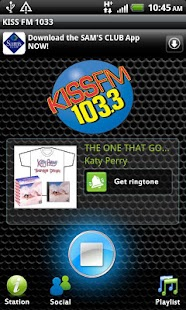 KISS FM 1033 - screenshot thumbnail