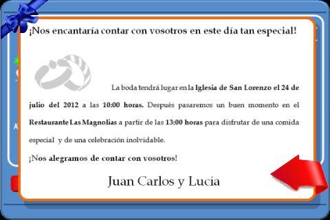 LCD Game Invitacion Boda