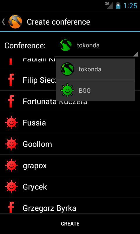Tokonda Messenger- screenshot