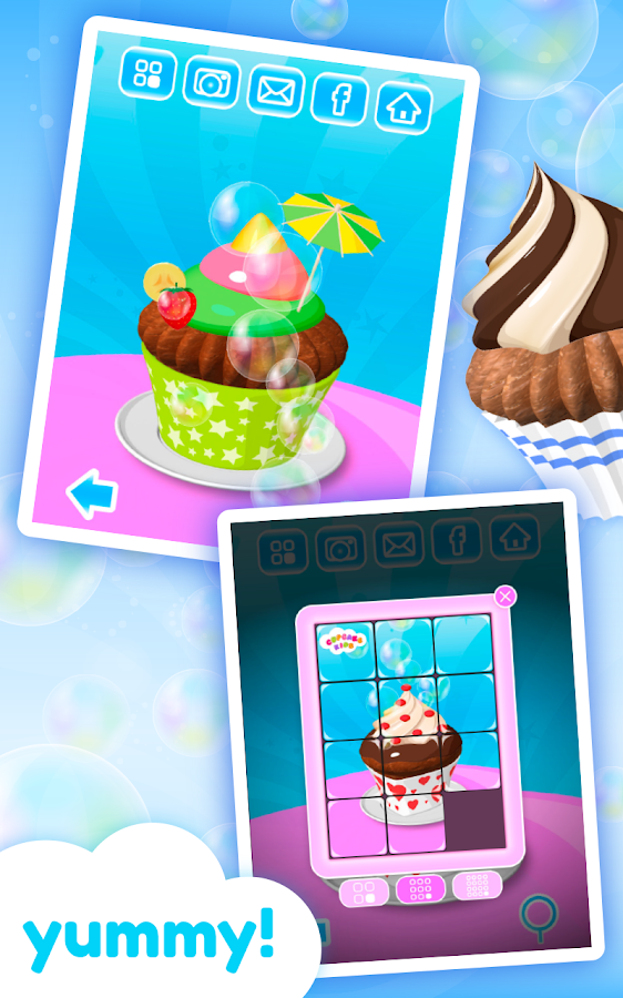 Cupcake Kids - Cooking Game - screenshot
