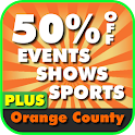 50% Off Orange County, CA Plus logo