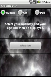 Age Calculator - screenshot thumbnail