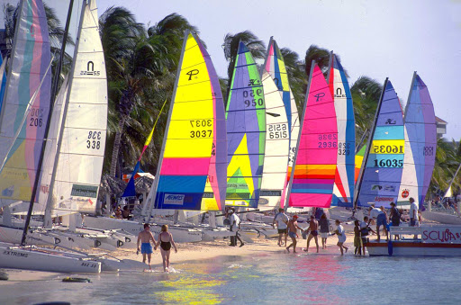 sails-Aruba - It's a good day for clear sailing on Aruba.