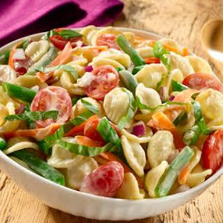 Creamy Balsamic Pasta Salad.