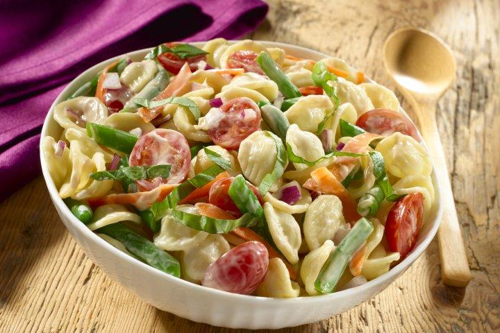 Creamy Balsamic Pasta Salad Recipe