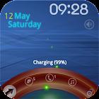 Metal Arc lock screen icon