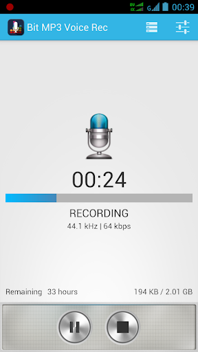 Bit MP3 Voice Recorder Free