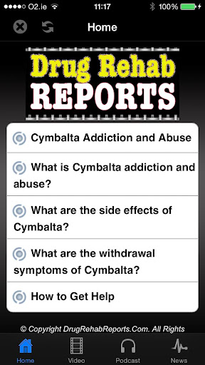 Cymbalta Addiction and Abuse