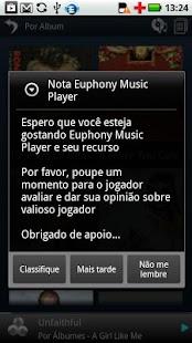 Portuguese Language Euphony MP - screenshot thumbnail