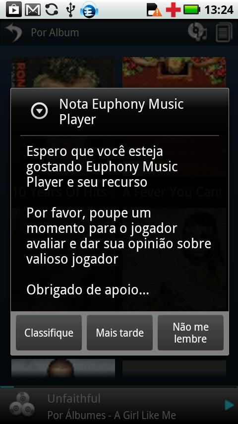 Portuguese Language Euphony MP - screenshot