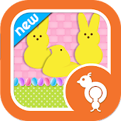 Easter Peeps Theme Go SMS