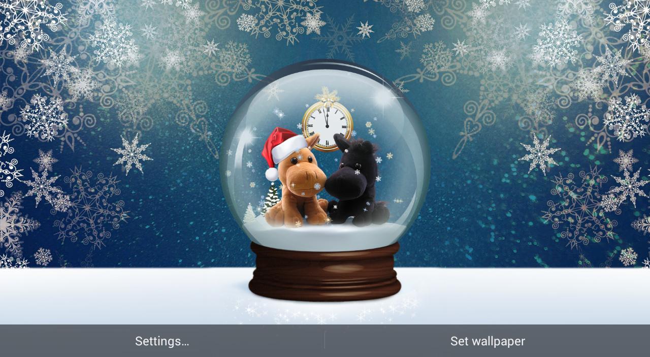 snow globes wallpaper  SNOW GLOBE LIVE WALLPAPER - Revenue